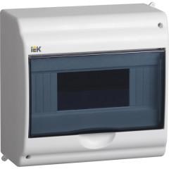 Корпус IEK КМПн 2/9-1 распределительный накладной 9 модулей 400 В 63 А УХЛЗ IP31 пластик