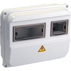 Корпус IEK КМПн-36 учетный накладной 3 модулей 230 В 63 А IP55 пластик