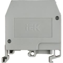Зажим наборный IEK ЗНИ JXB24А 600 В 24 А 2 провода 0.2-4 мм2 серый