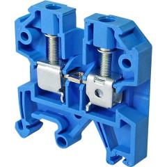 Зажим наборный IEK ЗНИ JXB24А 600 В 24 А 2 провода 0.2-4 мм2 синий