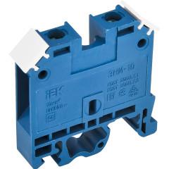 Зажим наборный IEK ЗНИ JXB70А 600 В 70 А 2 провода 1-16 мм2 синий