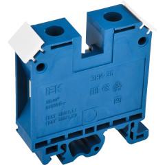 Зажим наборный IEK ЗНИ JXB125А 600 В 125 А 2 провода 4-50 мм2 синий