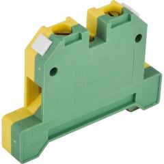 Зажим наборный IEK ЗНИ-10PEN 600 В 70 А 2 провода 1-16 мм2 зеленый