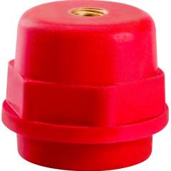 Изолятор IEK SM25 М6 1000 В силовой красный