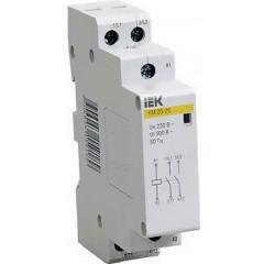 Контактор модульный IEK КМ20-20 AC 230В 20А 2НЗ 18 мм