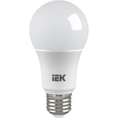 Лампа светодиодная IEK A60 9Вт 230В 3000К E27