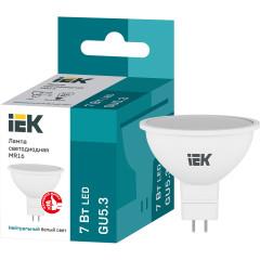 Лампа светодиодная IEK LLE-MR16-7-230-40-GU5