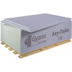 Гипсокартонный лист Gyproc Аку-Лайн ГСП-D звукоизоляционная 2500x1200x12.5 мм
