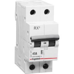 Выключатель нагрузки Legrand RX3 2 модуля 40А