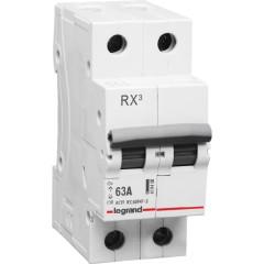 Выключатель нагрузки Legrand RX3 2 модуля 63А