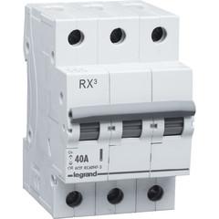 Выключатель нагрузки Legrand RX3 3 модуля 40А