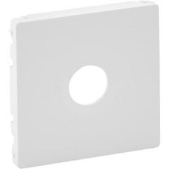 Лицевая панель Legrand Valena Life для одиночной ТВ розетки белая
