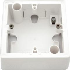 Установочная коробка Legrand для серии Valena 1 пост белая