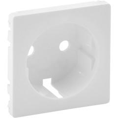 Лицевая панель Legrand Valena Life для розетки 2К+З белая