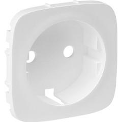 Лицевая панель Legrand Valena Allure для розетки 2К+З белая