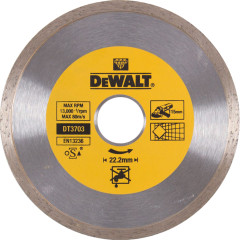Диск алмазный Dewalt сплошной h7 мм 115x22.2 мм