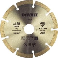 Диск алмазный Dewalt сегментный 125x22.2 мм