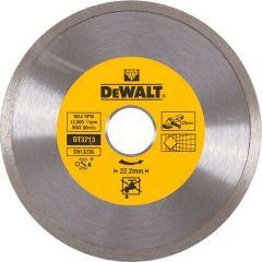 Диск алмазный сплошной по керамике Dewalt 125x22.2 мм