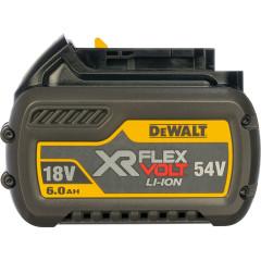 АккумуляторDewaltXRFlexvoltLi-Ion54В6Ач DCB546-XJ