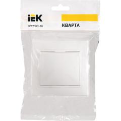 Выключатель IEK Кварта ВСп10-1-0-КБ 1-клавишный встроенный 250 В 10 А белый