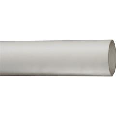 Труба гладкая жесткая IEK ПВХ серая d20 мм 93 м длина 3 м