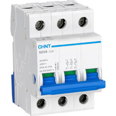 Выключатель нагрузки Chint NH4-125 3 модуля 125A