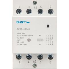 Контактор модульный Chint NCH8-40/40 230В 40А 4НО 54 мм