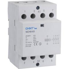Контактор модульный Chint NCH8-63/11 230В 63А 1НО и 1НЗ 36 мм