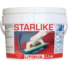 Затирка Litokol Litochrom Starlike эпоксидная С.560 серый цемент 2.5 кг