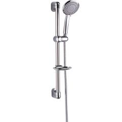 Душевой гарнитур ESKO стойка 600 мм 3-х режимный ручной душ мыльница шланга 1.6 м