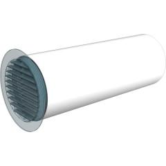 Воздуховод ERA ВП круглый ПВХ D 125 мм 2 м
