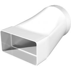 Соединитель ERA СПКП эксцентрикового плоского воздуховода 204x60 мм с круглым D 125 мм