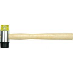 Молоток киянка резина/пластик Fit деревянная ручка 35 мм