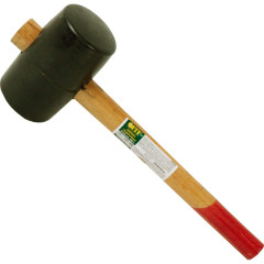 Киянка резиновая Курс деревянная ручка 70 мм