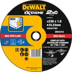 Круг отрезной по металлу Dewalt Extreme 230x22.2x1.9 мм