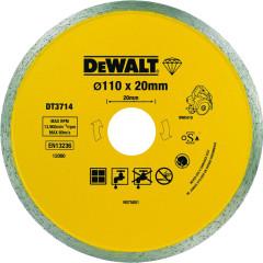 Диск алмазный Dewalt сплошной h5 мм 110x20 мм
