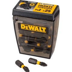 Бита DeWalt PZ2 25 мм ударная магнитная в кейсе 25 шт.