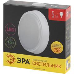 Светильник Эра 5 Вт 4000 К белый 155x35 мм