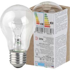 Лампа накаливания Эра A50 E27 230 В 75 Вт