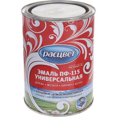 Эмаль универсальная Empils ПФ-115 РАСЦВЕТ ГОСТ васильковая 0.9 кг