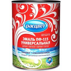 Эмаль универсальная Empils ПФ-115 РАСЦВЕТ ГОСТ коричневая 0.9 кг