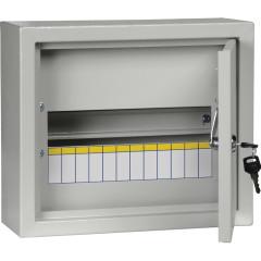 Корпус IEK Light ЩМП-1-3 распределительный накладной модулей 400 В 125 А УХЛЗ IP31 сталь