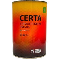 Эмаль антикоррозионная Certa термостойкая до 650°С серебристая 0.75 л