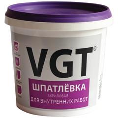 Шпатлевка финишная VGT акриловая универсальная для наружных и внутренних работ 1.7 кг