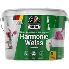 Краска интерьерная водно-дисперсионная Dufa Harmonieweiss 10 л