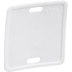 Бирка кабельная маркировочная IEK У-134 белая