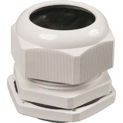 Сальник IEK PG 11 диаметр проводника 7-9 мм IP54 серый