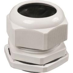 Сальник IEK PG 16 диаметр проводника 9-13 мм IP54 серый