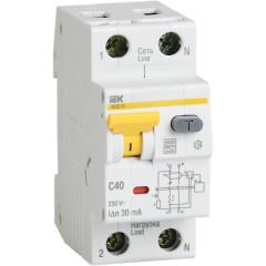 Автоматический выключатель дифференциального тока IEK АВДТ 32 C20 30 мА 20А