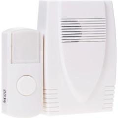 Звонок ЭРА C71 беспроводной 6 мелодий IP44 белый